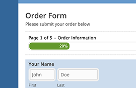 Multi-Page Forms