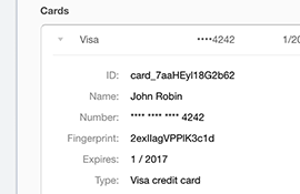 Save Credit Cards into Stripe, Authorize.net