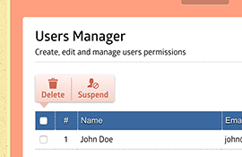 Users Manager